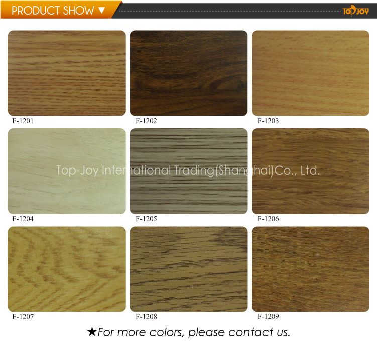 Commercial PVC Wooden Like Vinyl Flooring