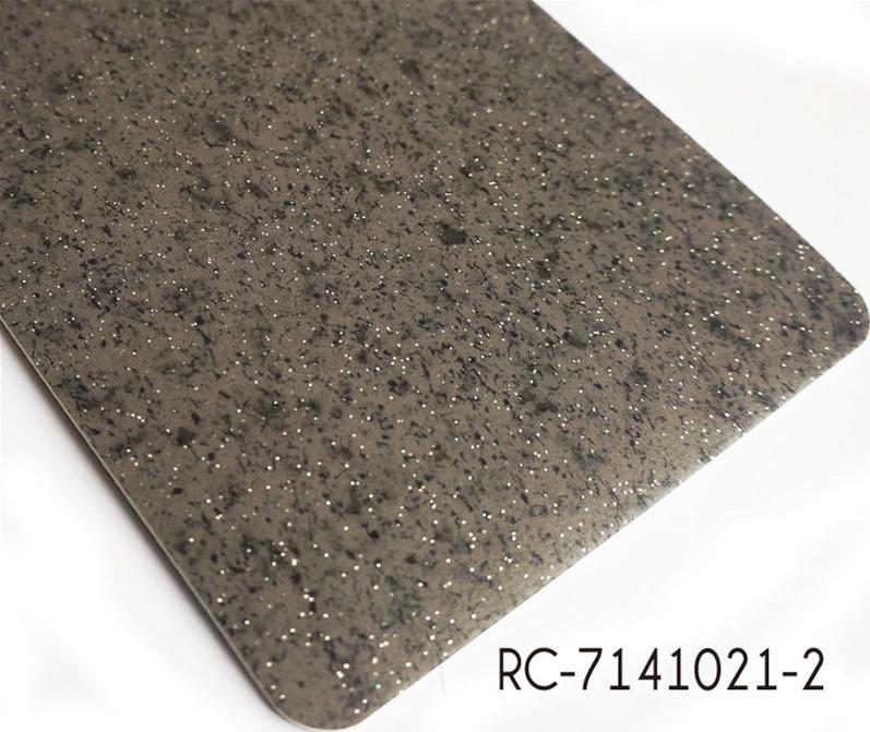 PVC Black Marble Effect Vinyl Flooring Rolls