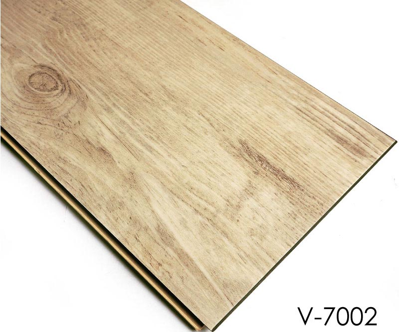 Plastic Floor: Luxury Waterproof PVC Tile Wood Click Vinyl Flooring