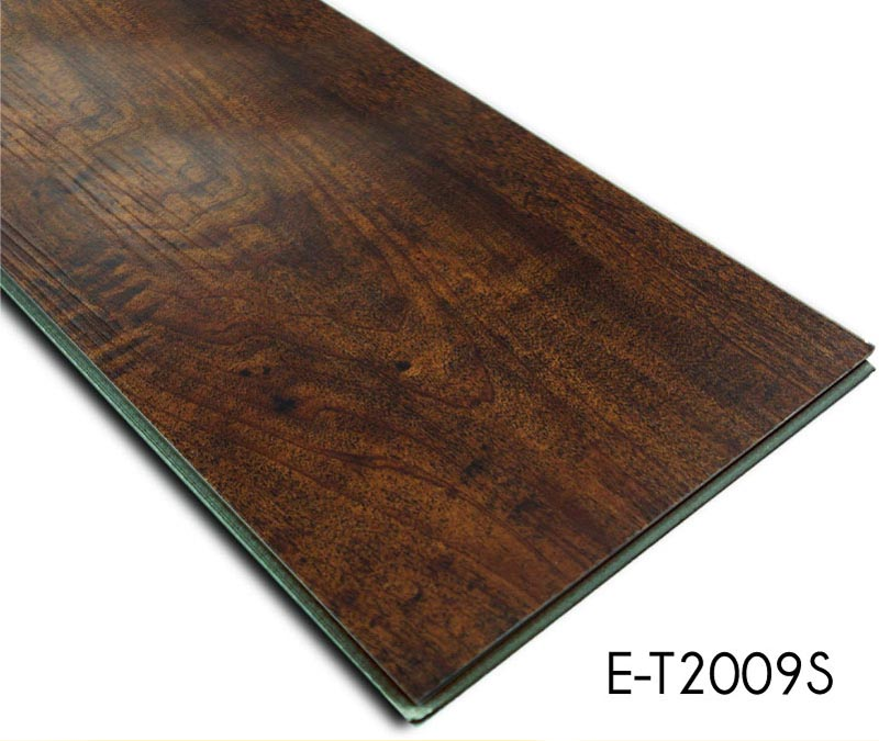 Low Maintenance Wood Click Vinyl Flooring Tiles