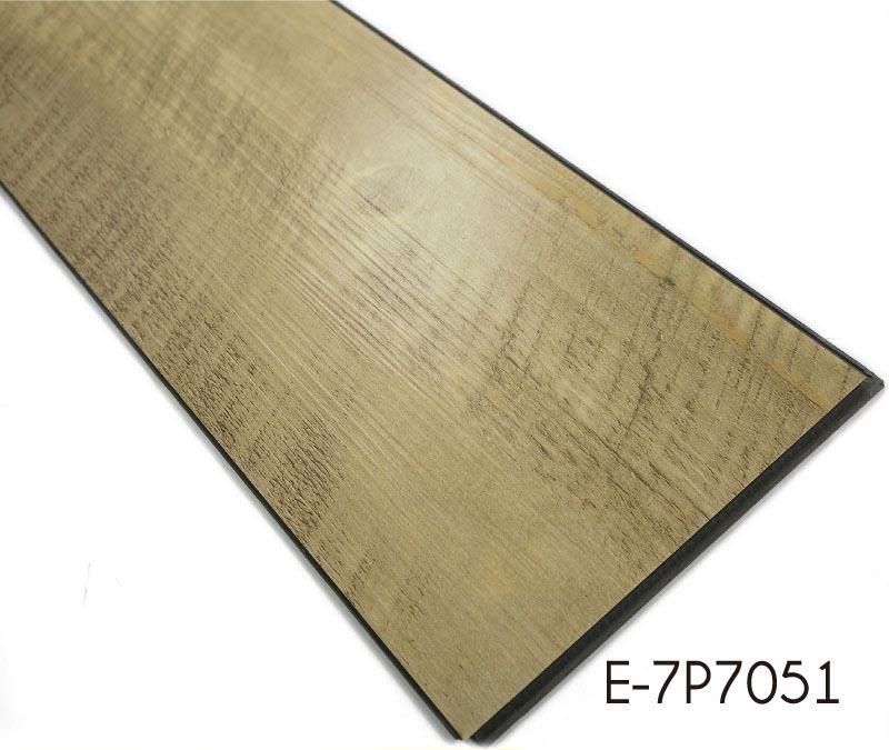 Pvc wood grain high quality interlocking vinyl flooring for High quality vinyl flooring