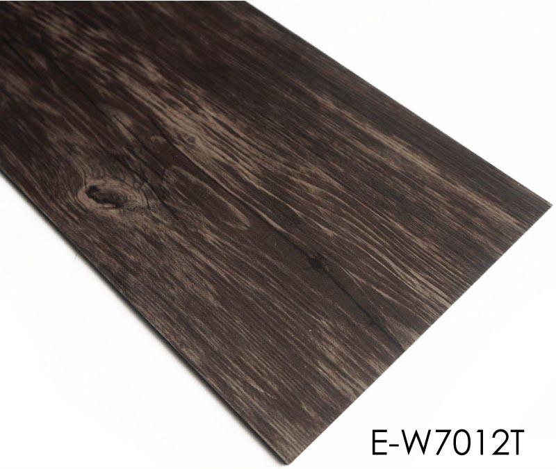 Waterproof And Fireproof Dry Back Wood Grain Tile Vinyl
