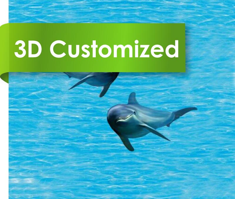 New Design 2mm Customized PVC Flooring