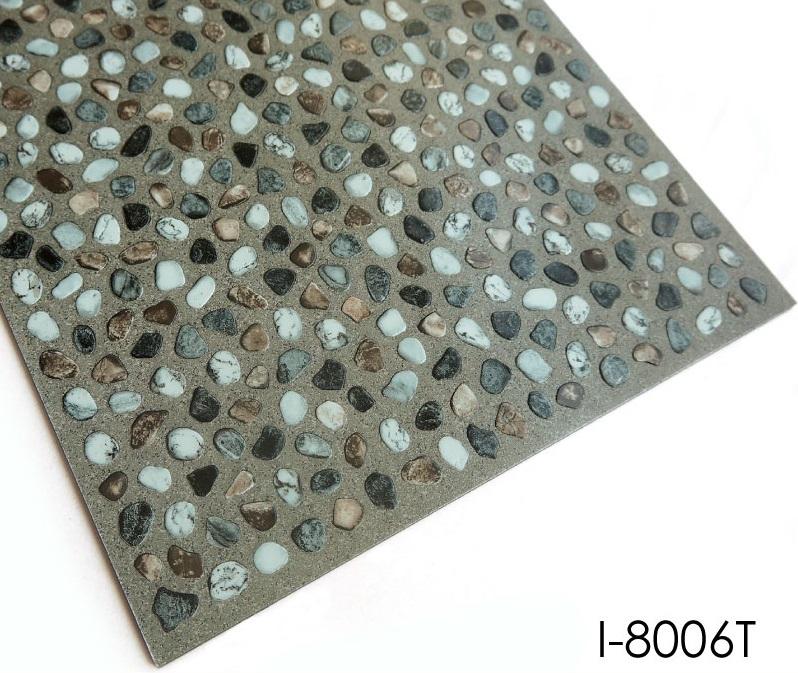 Decorative Stone Look Glue Down Pvc Floor Topjoyflooring