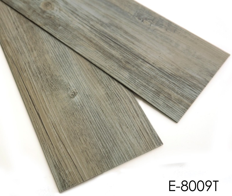 Durable 2mm Wood Grain Dry Back PVC Vinyl Flooring