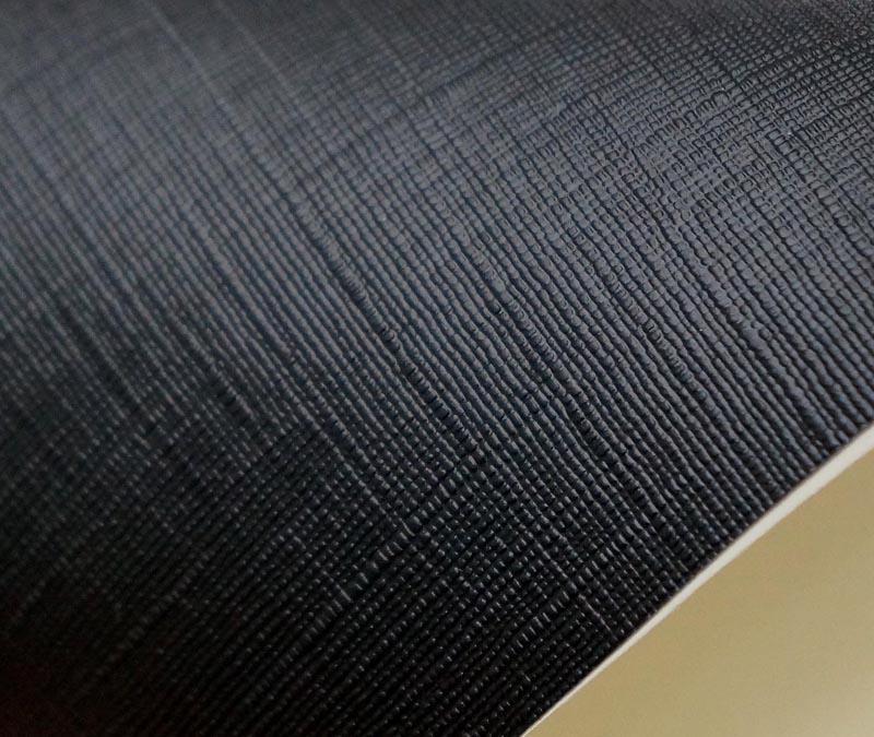 Black 4mm 0 4mm Durable Anti Fouling Commercial Vinyl