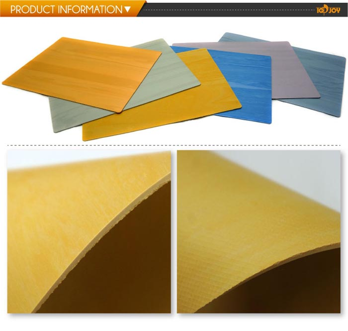 Yellow best virgin 2m homogeneous sheet vinyl flooring for Floor sheet for office