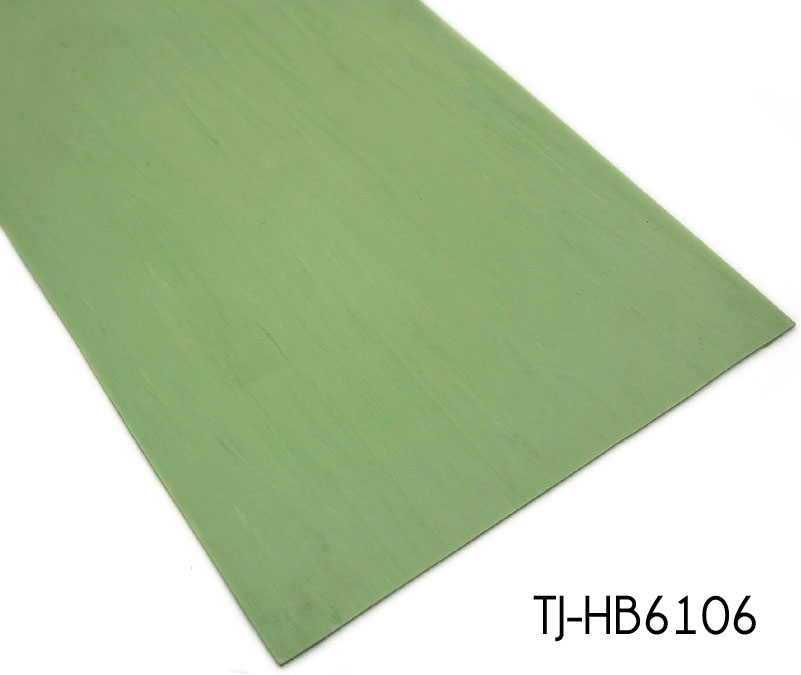 2mm Fresh Green Eco-friendly Commercial Vinyl Flooring Homogeneous