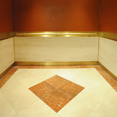 Why choose vinyl flooring on elevator topjoyflooring for Elevator flooring options